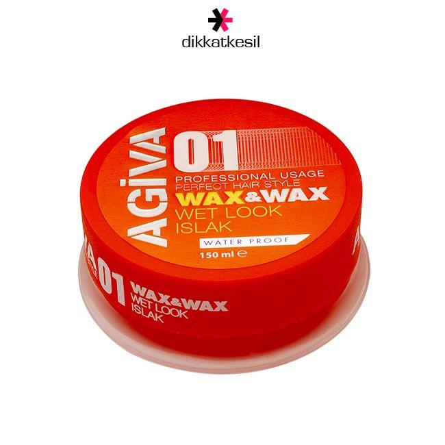 Agiva Wax, Saç Şekillendirici Islak Etkili 01 Turuncu 150ml http://www.dikkatkesil.com/agiva-wax