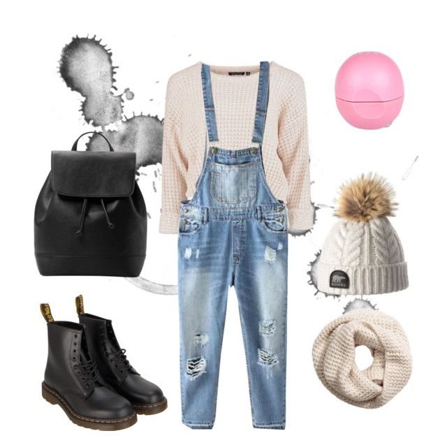 """"" by mara-dobrita on Polyvore featuring Relaxfeel, Dr. Martens, H&M, MANGO and Eos"