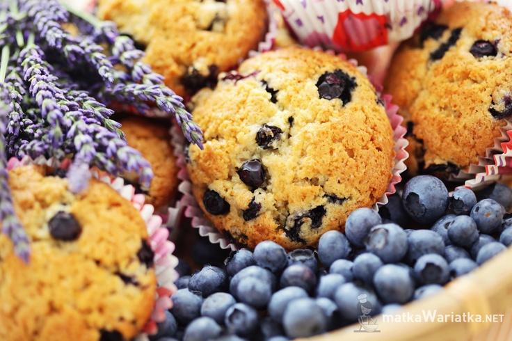 muffiny z borówkami i mascarpone