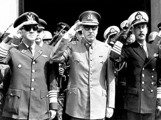 krk- Augusto Pinochet, líder de la dictadura militar de Chile (1973-1990).