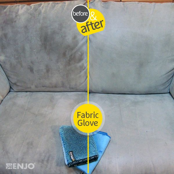 """ENJO Textile (aka """"fabric"""" for non-Americans!) Glove.  I've really cleaned my couches with this, and, mind blown!"""