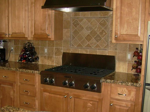11 best backsplash images on pinterest kitchen ideas for Tuscan kitchen ideas on a budget