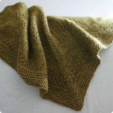 """Knit shawl ravelry free pattern  """"textured shawl recipe"""" pattern by orlane"""