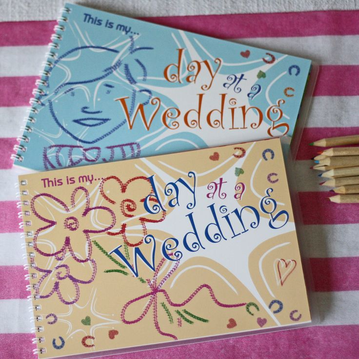 Children's Wedding Keepsake Book  This Is My Day At A Wedding available from www.theweddingofmydreams.co.uk