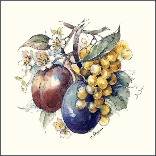 21 best Fruits and Vegetables designs on Tiles images on Pinterest ...