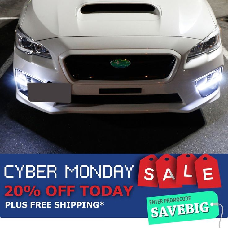 Cyber Monday is finally here!!! Use our pormo code SAVEBIG to save 20% off your next purchase! We also restocked our iJDMTOY Subaru WRX/WRX STi LED DRL check it out here: http://store.ijdmtoy.com/Subaru-WRX-JDM-LED-DRL-Bezel-p/70-811.htm #Subaru #STI #SubaruWRXSTi #SubaruPower #iJDMTOY #JDM #LED #Cars #CarsofInstagram #CarsofIG #JDMLife #JDM #DRL #HID #cyber #cybermonday #cybermondaysale #deal #promo #savings #discount