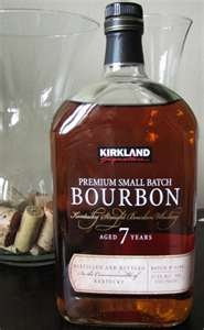 Kirkland Signature Premium Small Batch Bourbon- Oh my husband is going to be so excited in June when Costco starts selling booze!