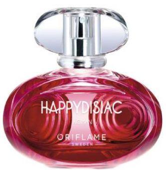 regressando ao delicioso mundo das fragrâncias, destacamos a nova fragrância Happydisiac, que, não só tem um aroma delicioso, como também apresenta propriedades que elevam o humor. Experimente este aroma na página 135 e seja feliz!