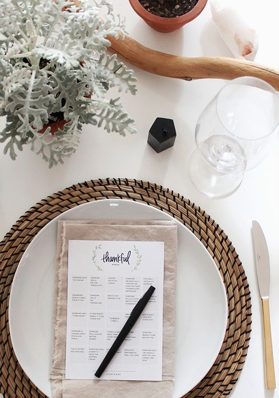 printable thanksgiving bingo | almost makes perfect