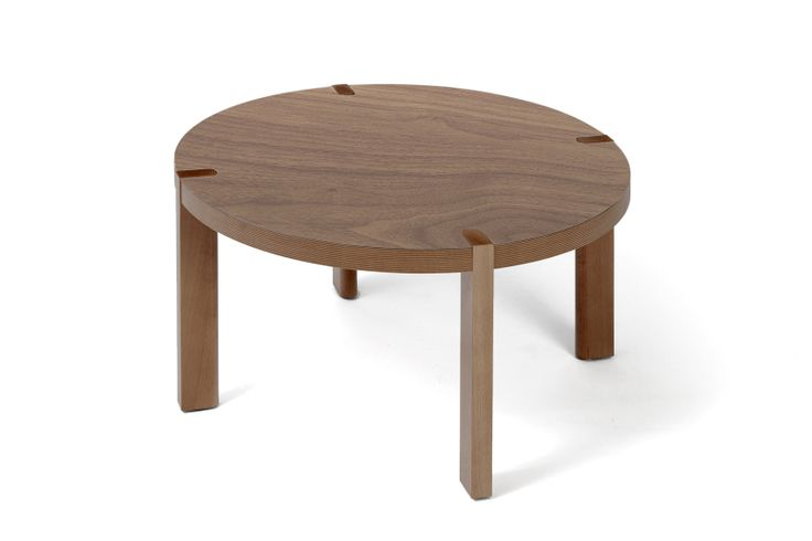 Coffee table Candy, limited edition with walnut veneer. www.bixbit.com