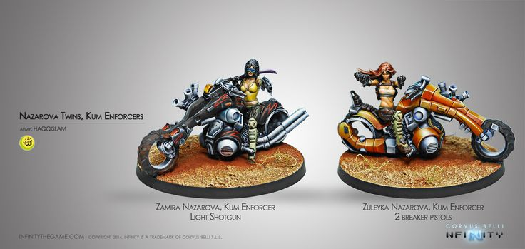 Nazarova Twins, Kum Enforcers