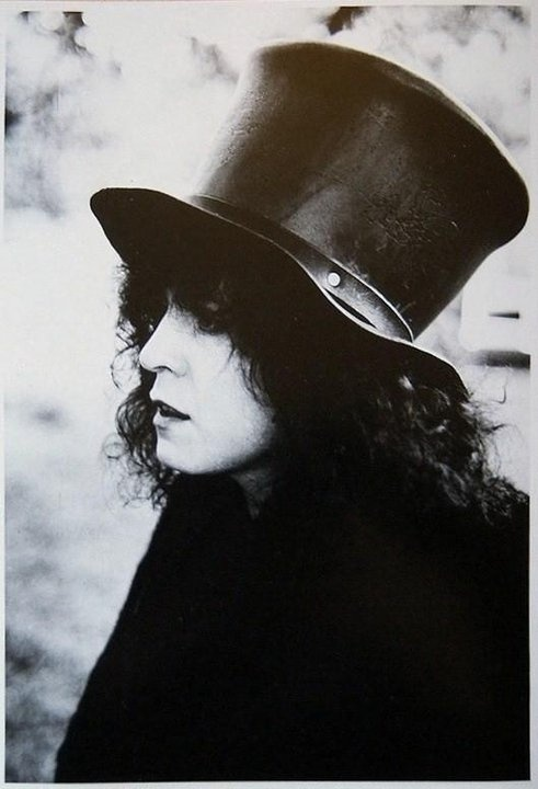 "Marc Bolan, T. Rex, ""Slider"" photo shoot"