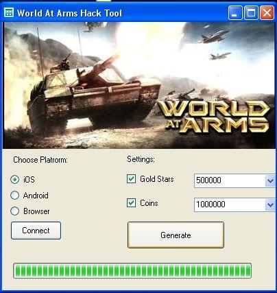 [Android] World At Arms Hack No Survey