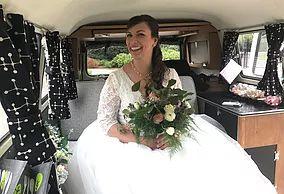 vw wedding camper surrey