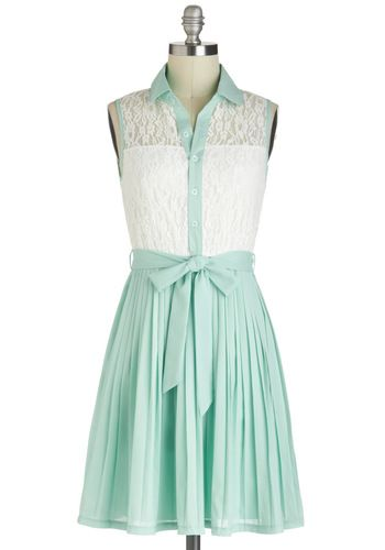 Sincerely Mint Dress, #ModCloth
