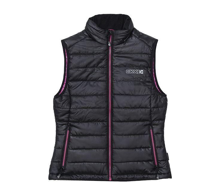CKX 2016 - Women Snowmobile Jackets - ZEPHYR Vest Black/Pink - ckxgear.com