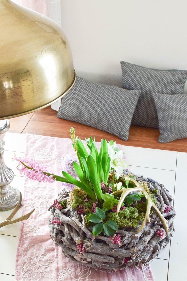 1921 besten deko mit naturmaterialien bilder auf pinterest blumengarten deko fr hling und. Black Bedroom Furniture Sets. Home Design Ideas