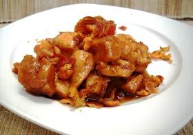 Pollo con Tocino y Miel de Maple