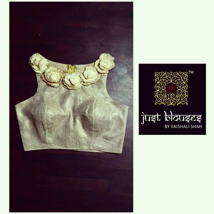 NEW ARRIVALS # GOLD # JUTE SILK # WESTERN # TRENDY # PICK OF THE SEASON # JUST BLOUSES BY VAISHALI SHAH