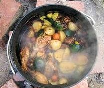 Botswana recipe:Vegetable Potjie