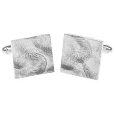 Grown Up square cufflinks from our Tender Touch range by Smallprint. www.smallprint.co.za