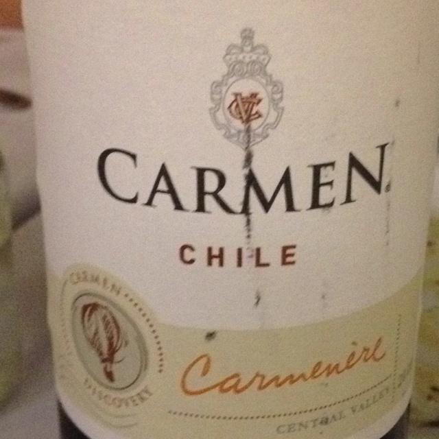 Fantastic Chilean wine.
