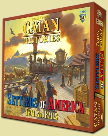 Settlers of America: It's Schrodinger's Catan. It both is and isn't regular Catan.