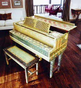 painted pianos piano and bright colours on pinterest