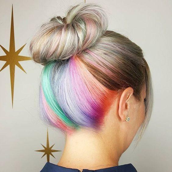 How cute!  #Underlight #hair