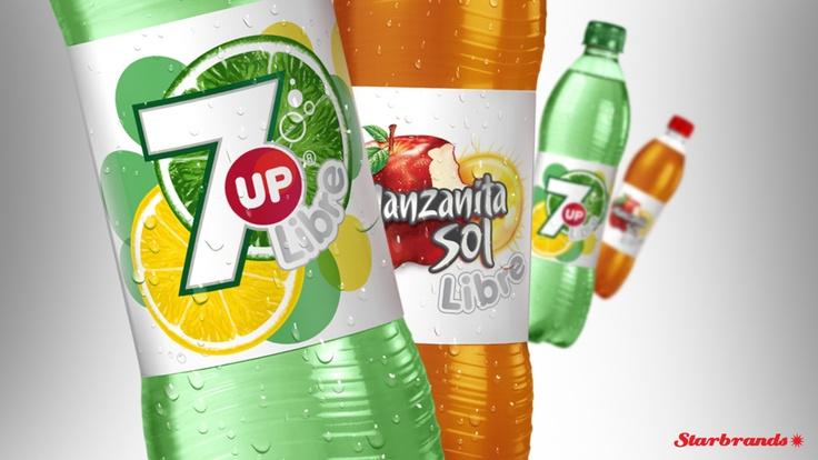 Extensión de línea 7up y Manzanita Libre I Pepsico I 2011
