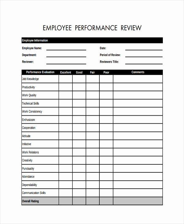 46 Employee Evaluation Forms Performance Review Examples In 2021 Evaluation Employee Employee Evaluation Form Employee Performance Review