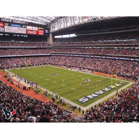 Artissimo Designs NFL Texans Stadium Canvas, 22x28 (Man Cave Decor)