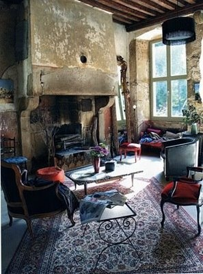 Beautiful space.: Decor, Fire Place, Interior, Idea, Living Rooms, Fireplaces, House, Space, Rustic