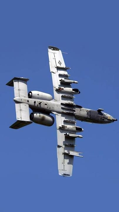 "Fairchild Republic A-10 Thunderbolt II; a.k.a. ""Warthog"""