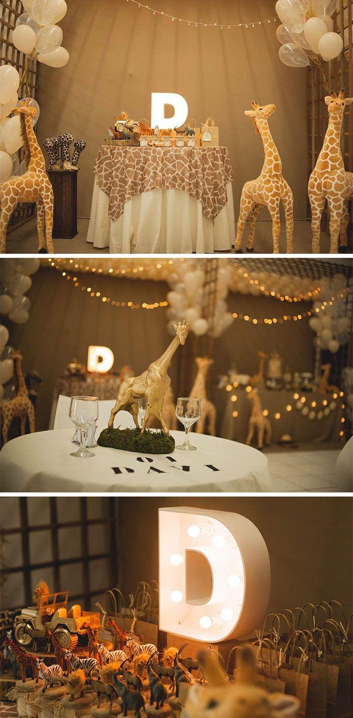 Festa girafas no safari por Ludique Celebrações - Blog Festa de Menino