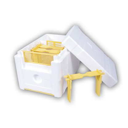 Polystyrene Mini Mating Nuc [POLY] - Blue Sky Bee Supply offers quality bee supplies, honey containers and protective clothing for beekeepers. Whether you looking for glass jars, plastic bottles at wholesale prices. We have you covered!
