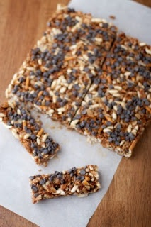 The Galley Gourmet: Chewy Granola Bar