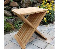 Teak Wood Folding Shower Seat