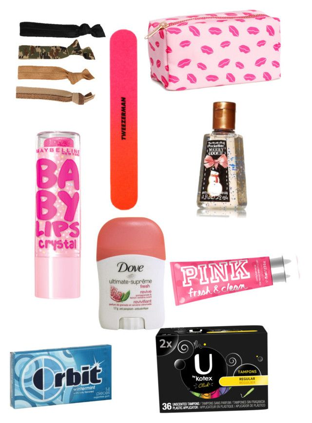 """""""Emergency kit for school"""" by catwalk87 ❤ liked on Polyvore"""