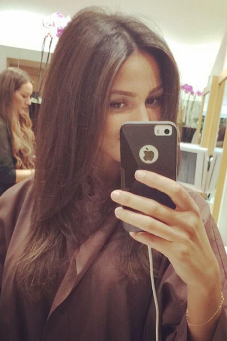Michelle Keegan = brunette hair inspo...