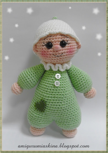amigurumi baby dolls CROCHET DOLLS AND TOYS Pinterest