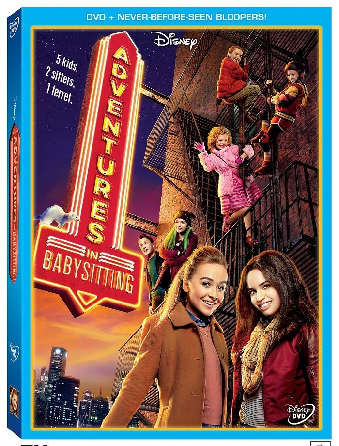 """Disney are set to release their Newest Disney Channel Original Movie, """"Adventures In Babysitting"""" on DVD on June 28th and the DVD comes with some exclusive bloopers as a extra bonus plus a Magnetic Photo Frame! Official Description: """"Adventures in Babysitting,"""" inspired by the hugely popular 1980s film of the same name, is an upcoming"""