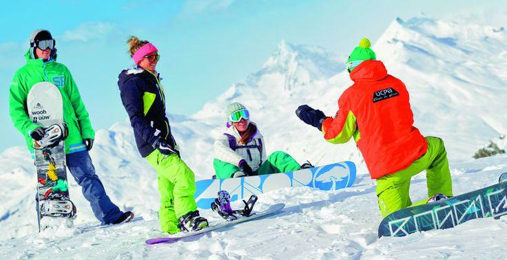 Les Contamines, Alpes du Nord - Centre UCPA Les Contamines   Ski ou Snowboard à mi-temps