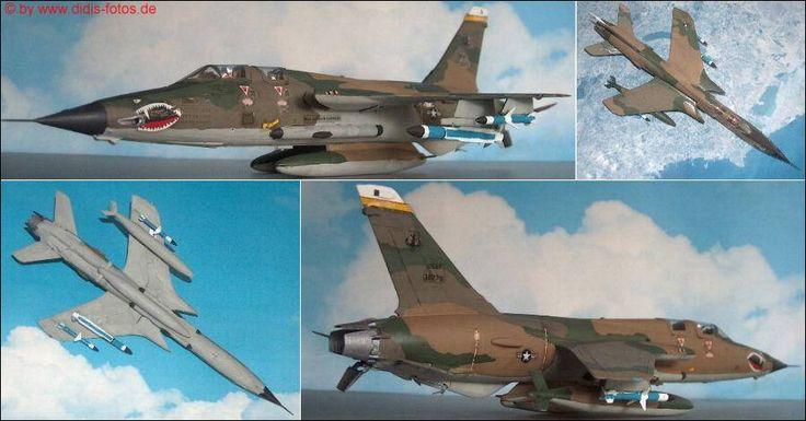 "Republic F-105G ""Thunderchief"" ""Wild Weasel"" (Monogram 5431) 1:72"