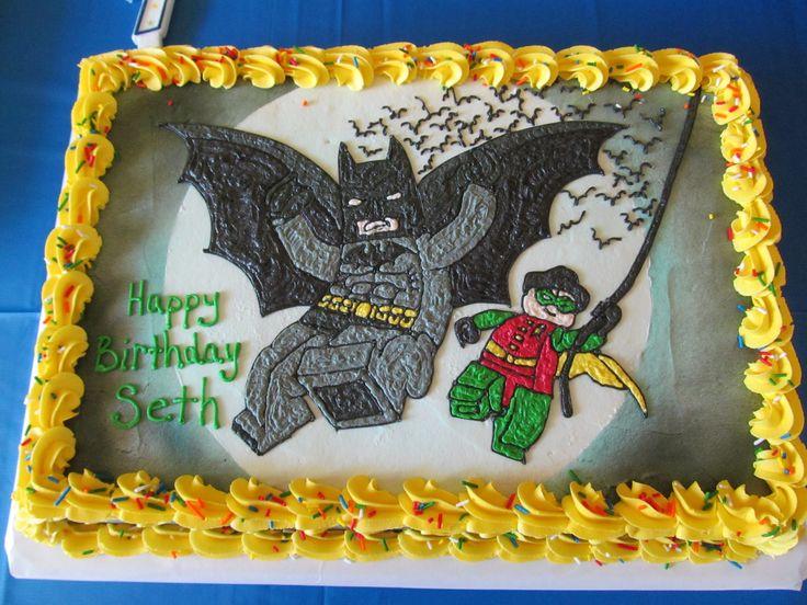 Lego Batman Cake Birthday Ideas Pinterest Lego