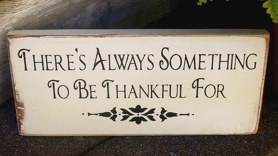 thanksgiving or home sign