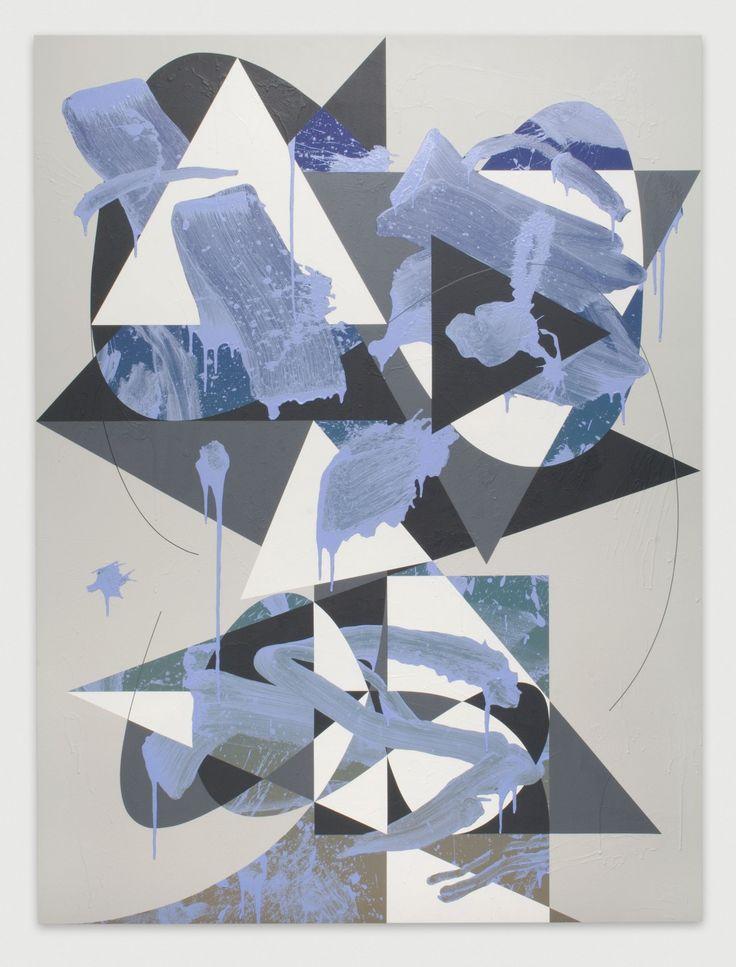 Luke Rudolf - Portrait No.41, 2012 / acrylic on canvas / 220 x 165 cm
