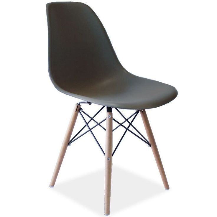 Eames Replica DSW Dining Chair Mid Grey