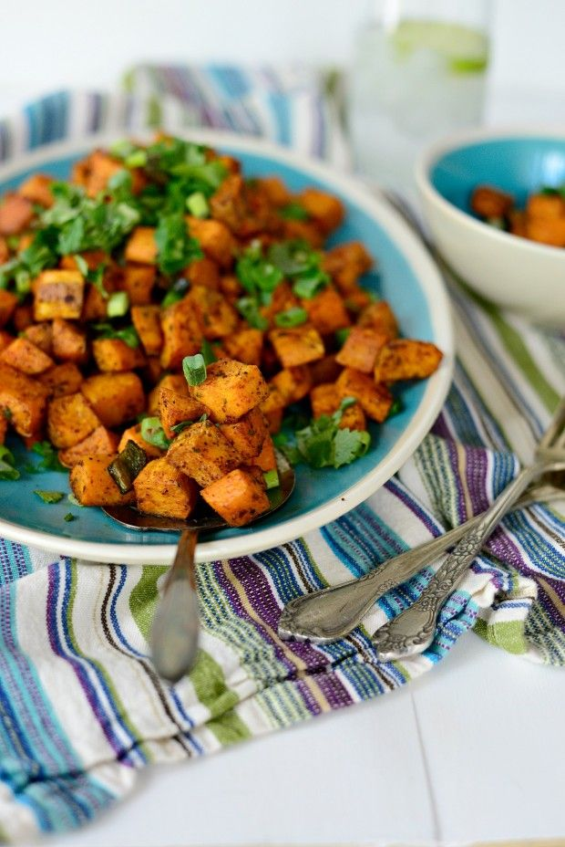 These Sweet Potato Home Fries are simple and absolutely delicious.