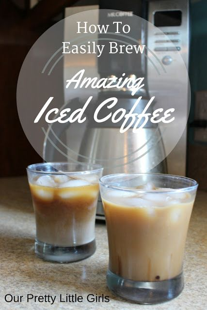 Mr Coffee Coffee Maker Smells Like Plastic : How To Brew Amazing Iced Coffee {Recipe} Simple recipe that uses your coffee pot and only takes ...